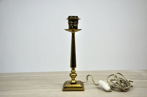 Vintage French Neoclassical Candlestick Style Table Lamp
