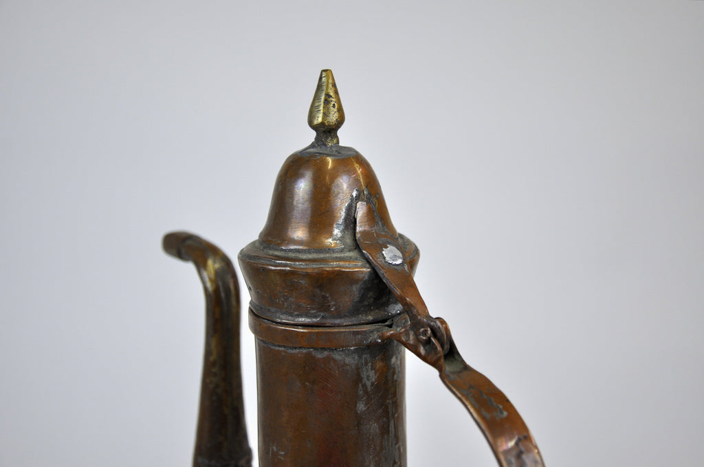 Antique Middle East Copper Water Pitcher