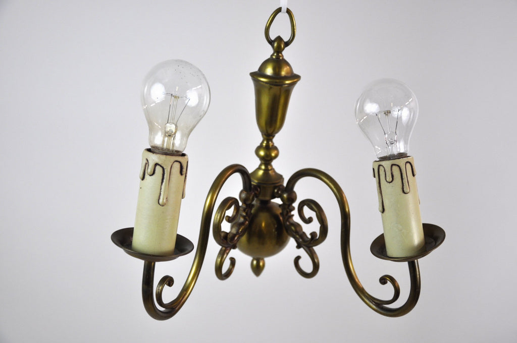 French Bronze Vintage Wall Sconce Light