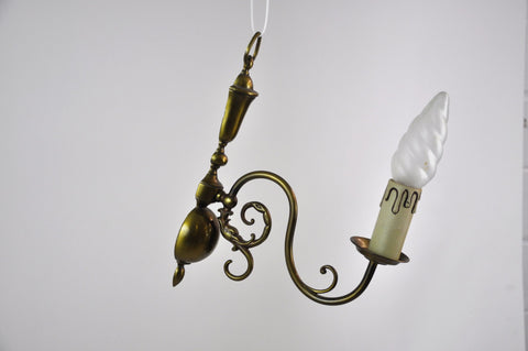 Image of French Bronze Wall Sconce