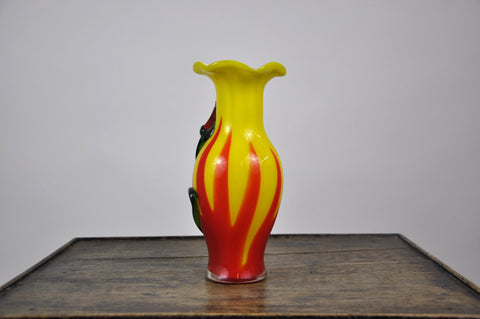 Image of Vintage French 1970's Ceramic Auteur Vase Handmade
