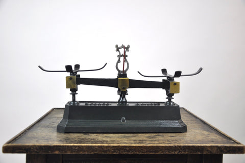Image of Antique 1860's Force 5 Kilo French Balance Scale