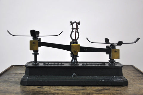 Antique 1860's Force 2 Kilo French Balance Scale