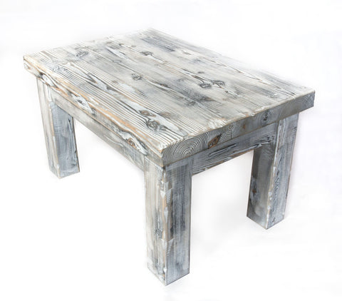 weathered pine coffee table