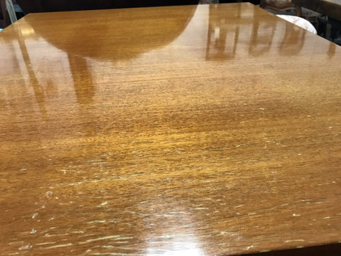 Image of Vintage Mid-Century Danish Teak Dining Table