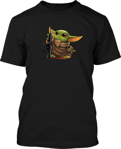 Yoda 2 - Mens Patriotic Shirts