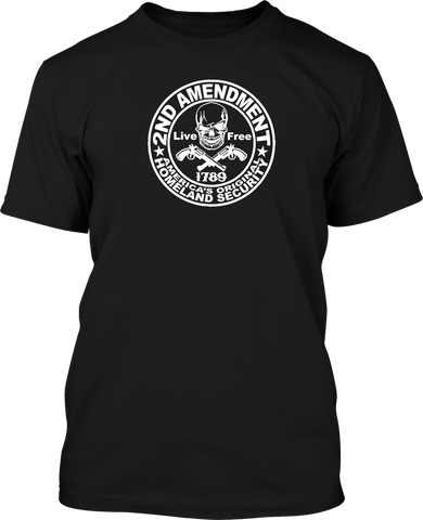 2nd Amendment Homeland - Mens Patriotic Shirts