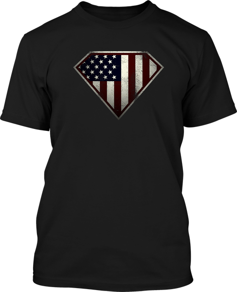 Super Patriot - Mens Patriotic Shirts