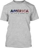 America ALL DAY - Mens Patriotic Shirts