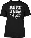 Bare Foot Blue Jean Night - Mens Tee