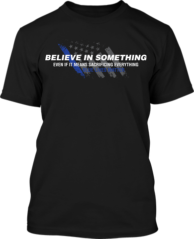 Blue Lives Matter - Mens Patriotic Shirts