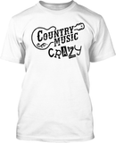Country Music Carzy - Mens Tee
