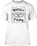 Whiskey makes me Frisky - Mens Tee
