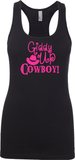 Giddy Up Cowboy - Womens Tank