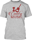 I Heart Country Music - Mens Tee