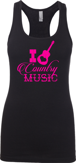 I Heart Country Music - Womens Tank