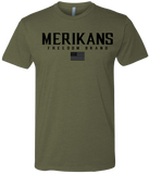 Merikans Black Corpo - Mens Patriotic Shirts
