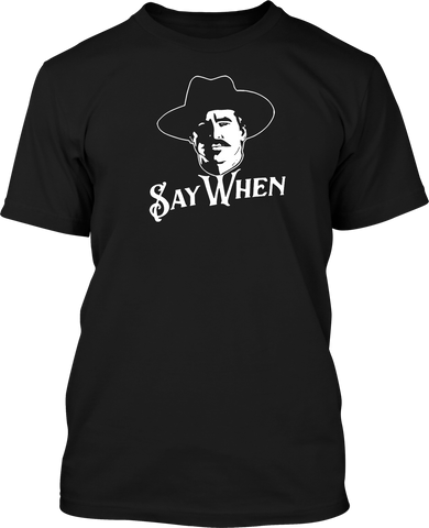 Say When - Mens Patriotic Shirts