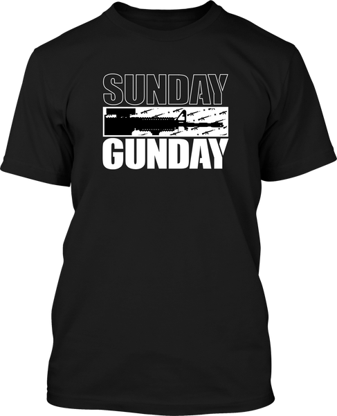 Sunday Gunday  - Mens Patriotic Shirts