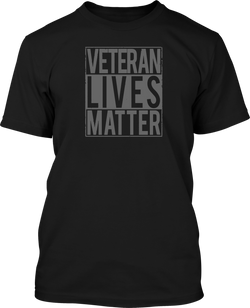 Veteran Lives Matter - Mens Patriotic Shirts