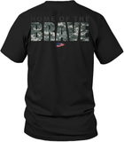 Home Of The Brave - Mens Patriotic Shirts