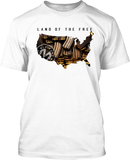 Land of the Free - Mens Patriotic Shirts