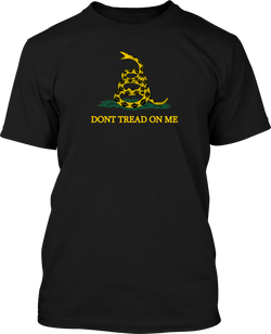 Don't Tread On Me - Mens Patriotic Shirts