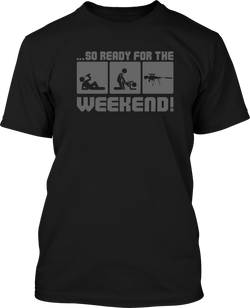 Weekend  - Mens Patriotic Shirts