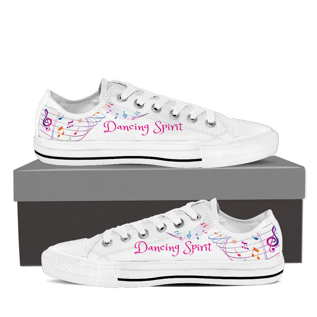 Dancing Spirit Women's Low Top Canvas Shoe