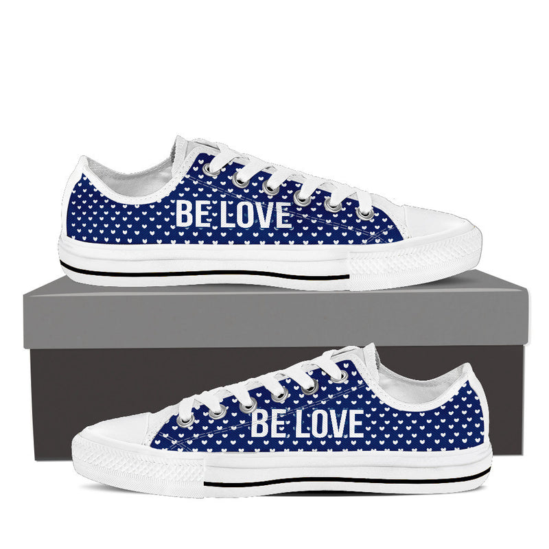 Be Love Low Top Canvas Shoe