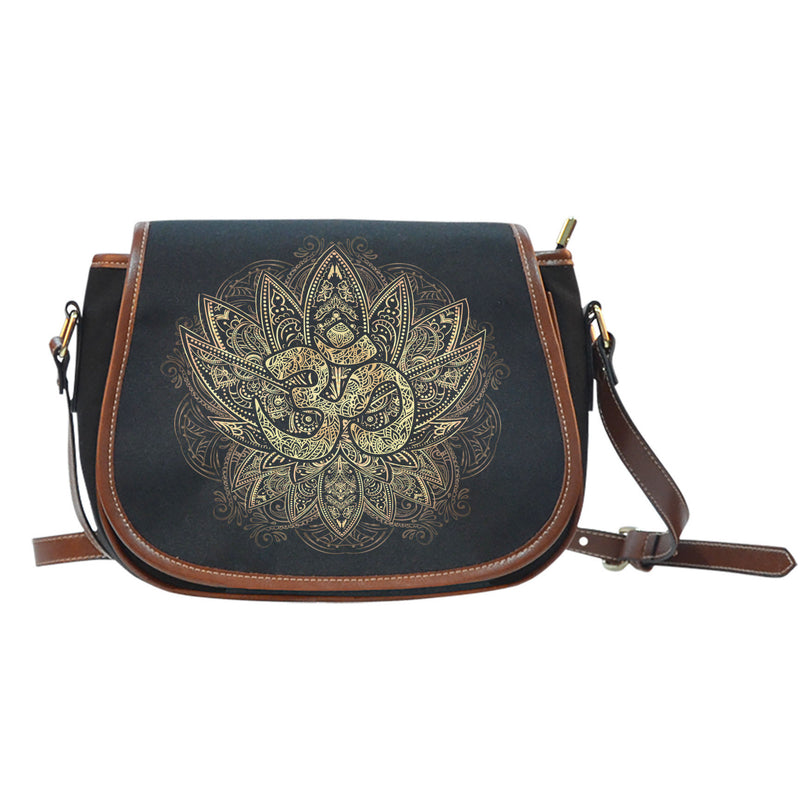 Ohm Canvas/Leather Saddle Bag