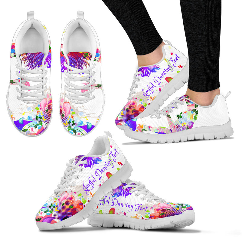 Joyful Dancing Feet Women's Sneakers