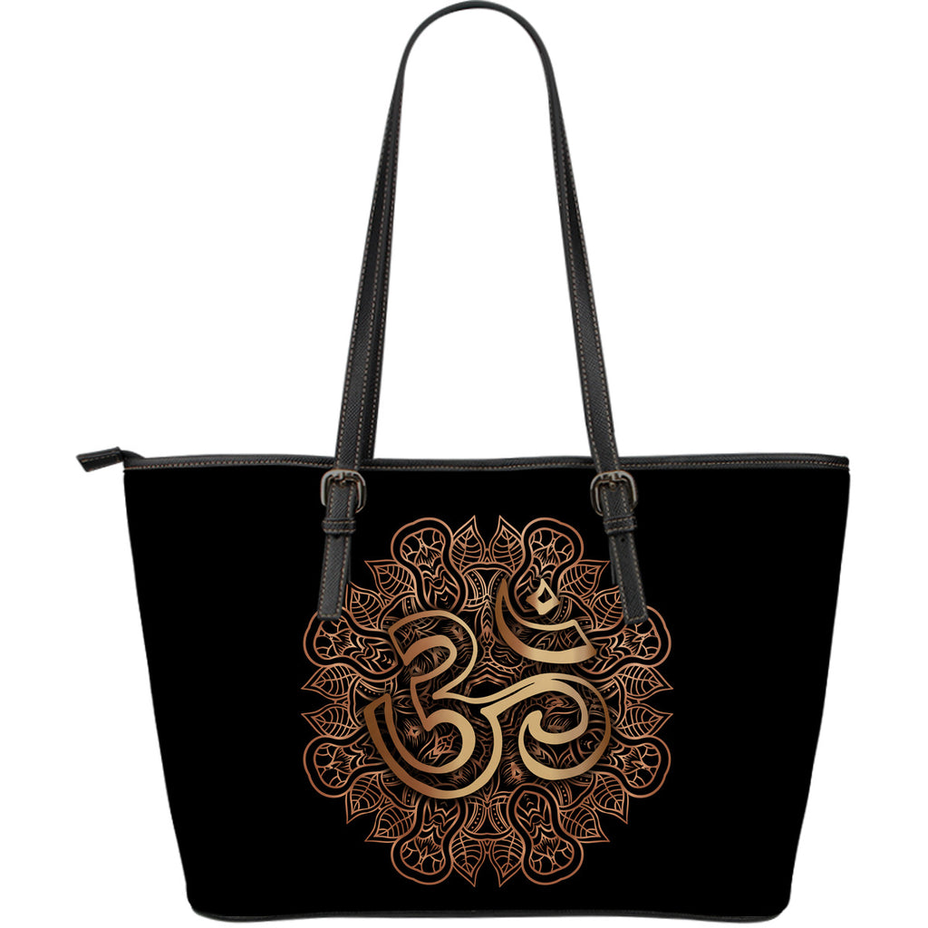 Ohm Large Leather Tote Bag