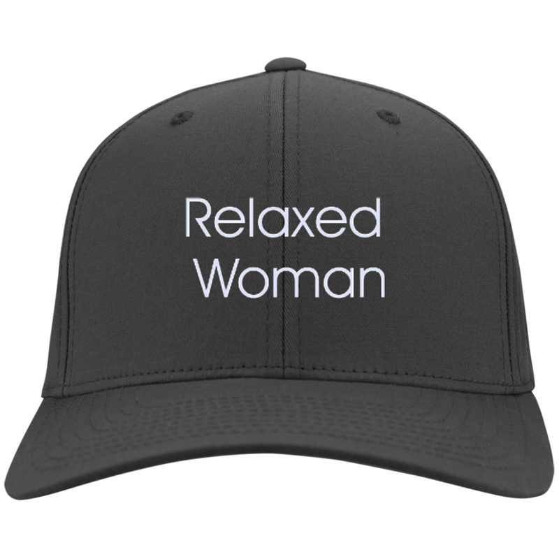 Relaxed Woman Twill Cap