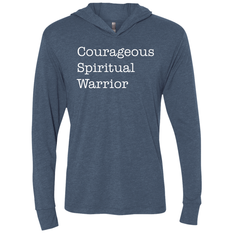Courageous Spiritual Warrior Hooded T-Shirt