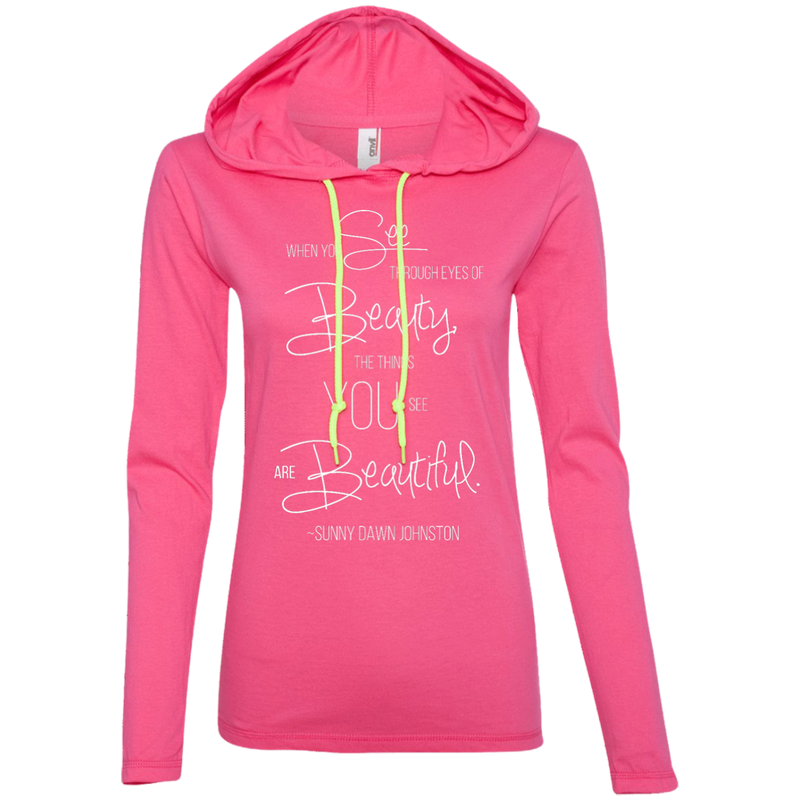 Sunny Dawn Johnston Ladies T-Shirt Hoodie