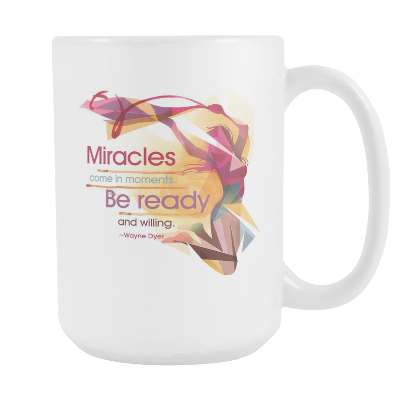 Wayne Dyer 15oz White Mug