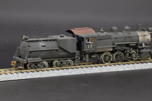 HO Brass - Gem PRR 0-6-0 painted for Southern Pacific w/ US Hobbies Vanderbilt Tender