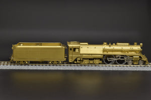 HO Brass - NJCB ST-238 B&O Baltimore & Ohio 'Lady Baltimore' 4-4-4 Unpainted - No Box