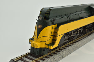 HO Brass - PSC 18234-2 C&NW Streamlined 4-6-2 Yellow Jacket - Mint