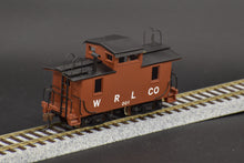 HO Brass - NWSL White River Lumber Co. Caboose #001 Pro Custom Paint