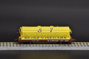 HO Brass - OMI 3157 H.J. Heinz Vinegar Car #203 - Pro Paint