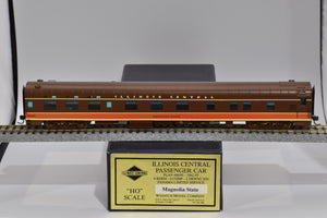 "HO Brass - Wasatch Model Co. Illinois Central Pullman 4-4-2 ""Magnolia State"" Custom Pro Paint"
