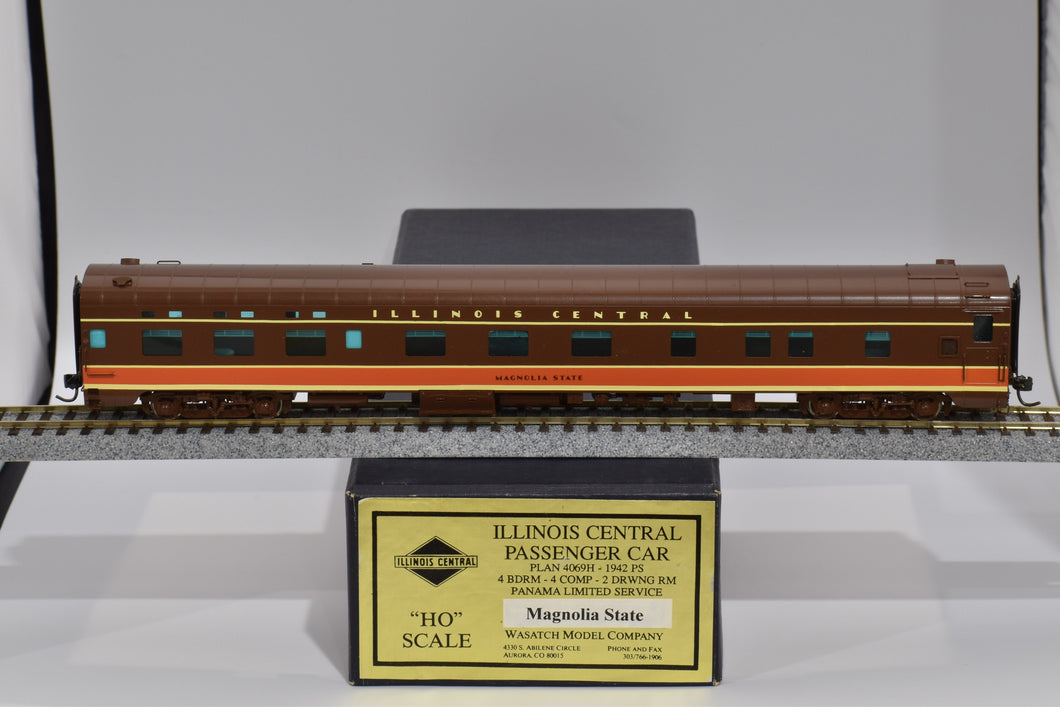HO Brass - Wasatch Model Co. Illinois Central Pullman 4-4-2