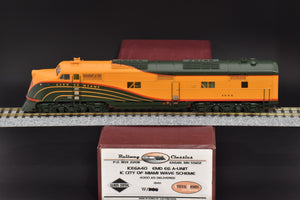 "HO Brass - Railway Classics RWC ICE6A40 Illinois Central E6A ""City of Miami"" Wave Scheme - MINT"