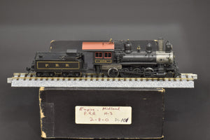 HO Brass - Empire Midland H-3 2-8-0 #1173 Pro Painted EARLY GOLD LETTERING