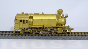 HO Brass - PSC Coos Bay Lumber Alco 2-8-2T Woods Service PSC #15576