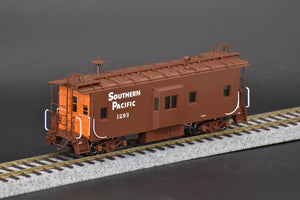 HO Brass - CIL 2414.1 Southern Pacific C-30-5 Caboose Bay Window w/ Orange Ends - MINT