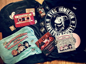 GRAB BAG! (TSHIRT, VINYL, BADGES, CD, STICKER & MORE!)