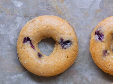But First Coffee... Blueberry Baked Donuts
